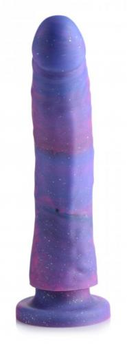 Magic Stick Siliconen Dildo Met Glitters - 20 cm #1